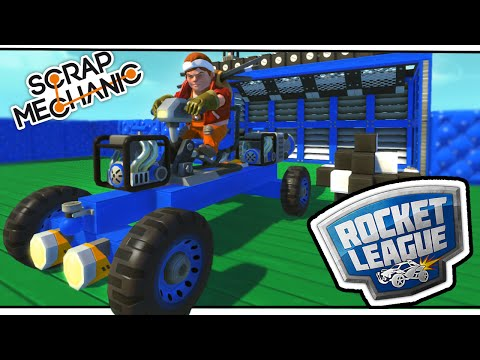 Scrap Mechanic! - ROCKET LEAGUE SPECIAL! Vs AshDubh - [#26] | Gameplay |