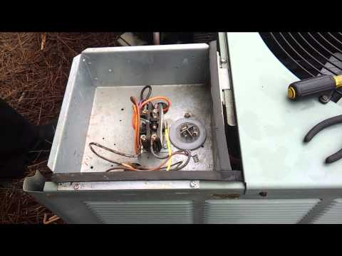 hqdefault?sqp= oaymwEWCKgBEF5IWvKriqkDCQgBFQAAiEIYAQ==&rs=AOn4CLAs X4fbhpx9jZsvRl5zFojO1O1cA rheem air conditioner fan capacitor diy fix vid 1314567770 youtube Rheem Thermostat Wiring at bayanpartner.co
