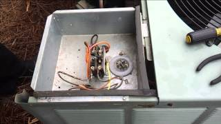AC Not Blowing Cold Air, AC Troubleshooting, How to Test a Capacitor, Air Conditioner Capacitor, Run