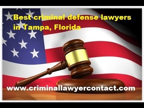 Find best criminal defense lawyers, attorneys in Tampa, Florida, United States