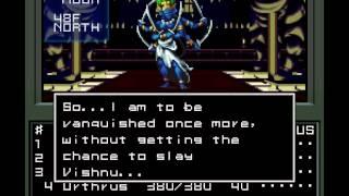 Shin Megami Tensei - Boss Ravana & Boss Indrajit (Law Path) [240p]