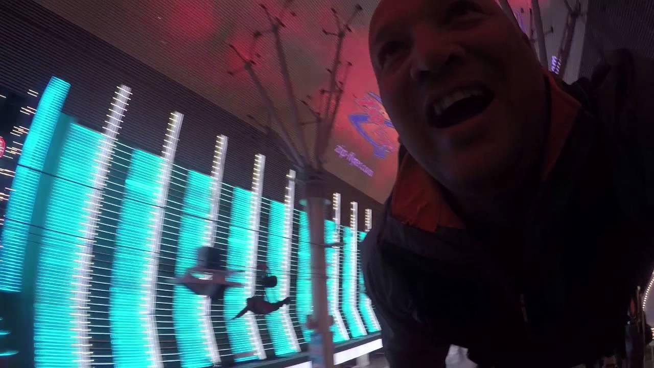 Zoomline @ Fremont Street Las Vegas - YouTube