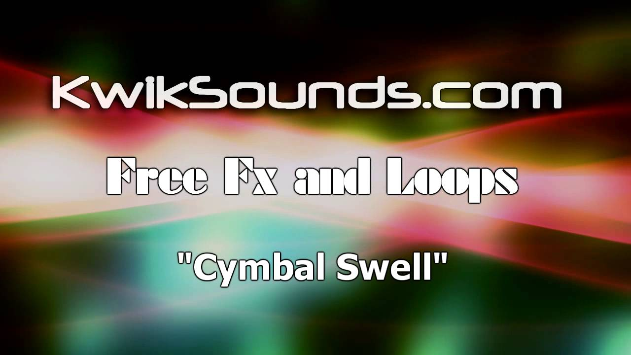 cymbal swell sound effect youtube. Black Bedroom Furniture Sets. Home Design Ideas