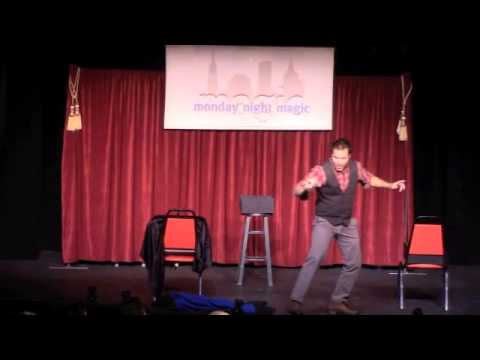 Appearance at Monday Night Magic, OffBroadway, NYC Aug. 2014