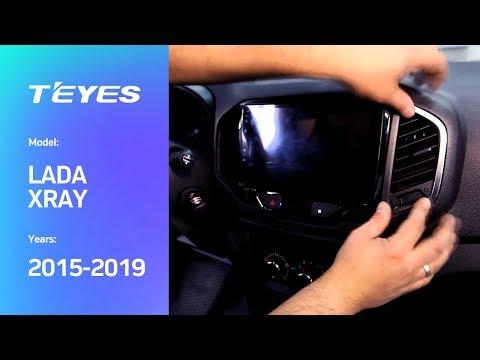 Видео по монтажу головного устройства в автомобиль LADA ХRAY  2015-2019