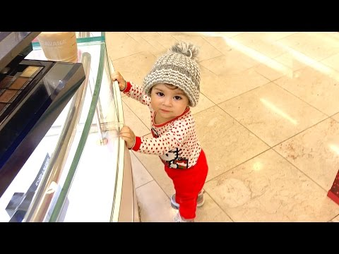 BAD BABY GETS LOST AT THE MALL!
