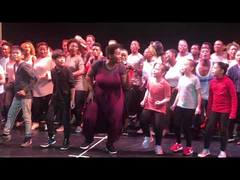 """Circle Of Life"" The Lion King Cast Rehearsals In Manila Feb 8, 2018"
