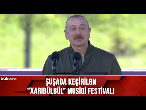 Şuşadan CANLI BAĞLANTI - Xarıbülbül musiqi festivalı - (12.05.2021)