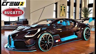 The Crew 2 Custom Bugatti Divo + Test Complet