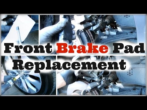 DIY 2013 2014 2015 2016 Honda Accord Front Brake Pad Replacement – DiyCarModz