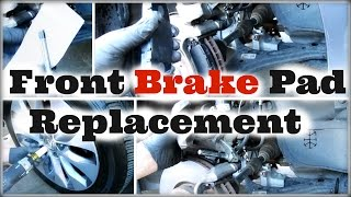 DIY 2013 2014 2015 2016 Honda Accord Front Brake Pad Replacement - DiyCarModz