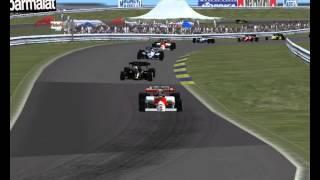 Grid Start 1984 Zandvoort NL Dutch Grand Prix 3