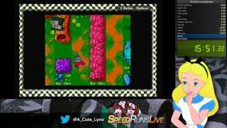 Alice in wonderland any% WR SS (29:14.44)