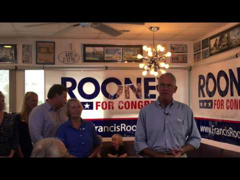 Francis Rooney Announces Bid for Florida Congressional Seat
