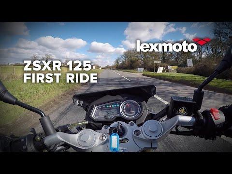 Lexmoto ZSXR 125: First Ride