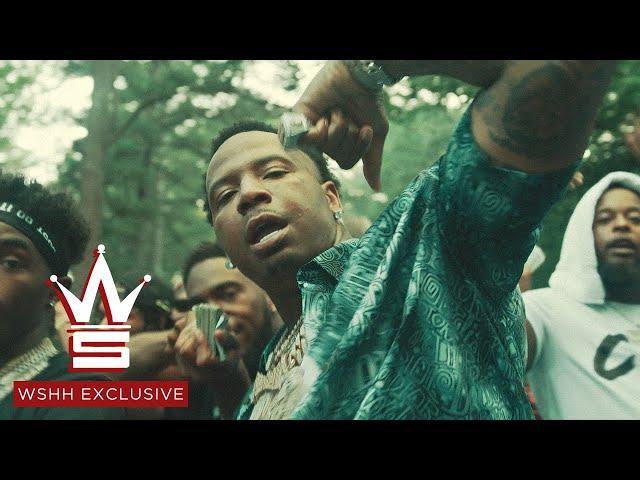 "Money Mu - ""Hittin' Remix"" feat. MoneyBagg Yo & Foogiano (Official Music Video - WSHH Exclusive)"