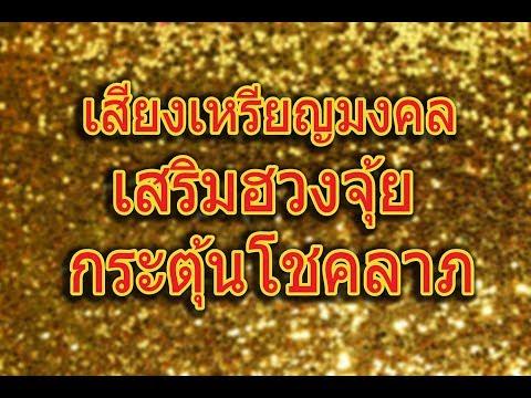 เงินทองไหลมา ; (1 ชั่วโมง) เสียงฝนเหรียญมงคล gold coins rain sound