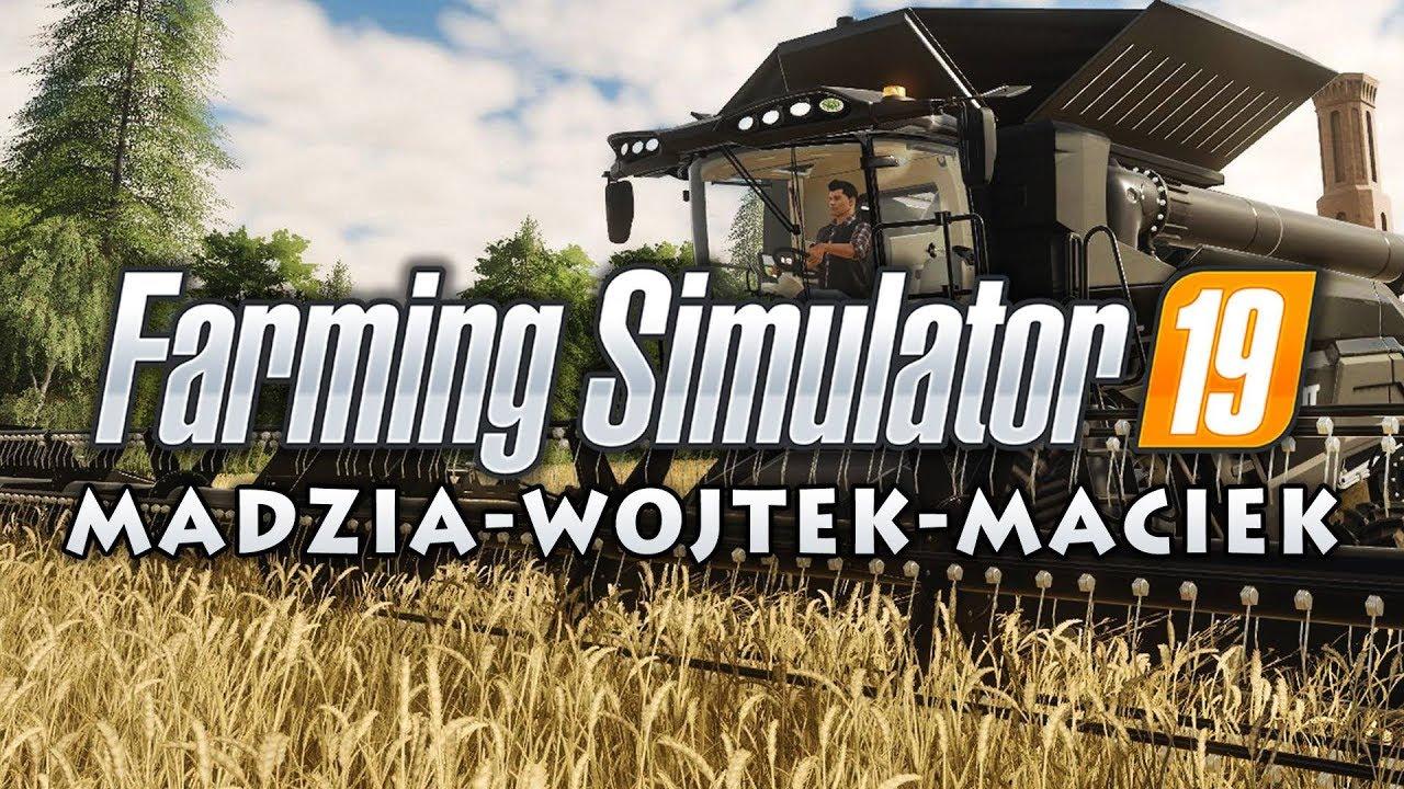 ???? Przyczepkowa Stłuczka Madzi ???? Farming Simulator 19 #02 w/ Madzia, GamerSpace