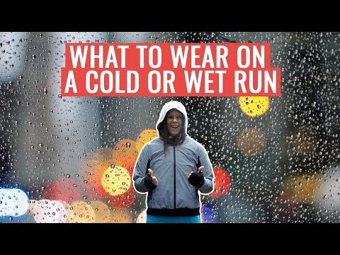How To Dress For Running In The RAIN | What To Wear On A Cold And Wet Run