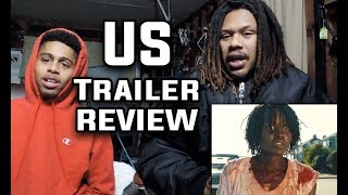 Us - Official Trailer | REACTION