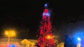 Открытие новогоднего городка в Карпинске