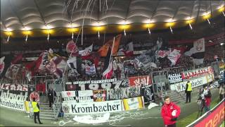 Support Start der Nordwestkurve gegen den FSV Mainz 05 - 12:13