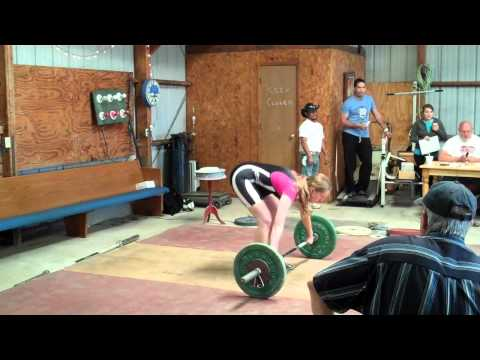 Tiffany Hillert Snatch 40 Kg Lock and Load 2011