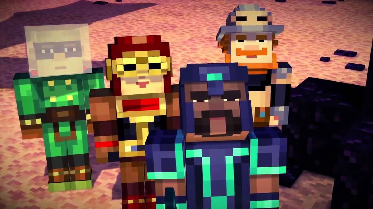 Minecraft׃ Story Mode - Episode 1 The Order of the Stone Trailer ...