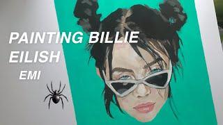 Panting BILLIE EILISH with oils after a hard day | C'EST EMI