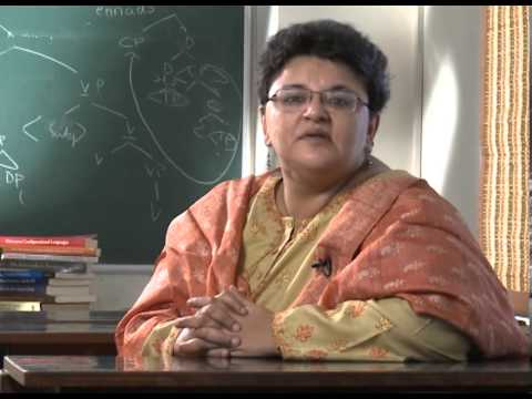 Prof. Ayesha Kidwai talks about her award winning work in theoretical linguistics