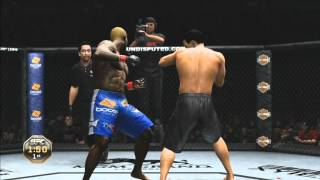 UFC Undisputed 3: Guest Career Mode Gameplay Xbox 360/PS3