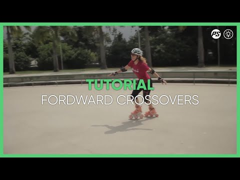 How to learn forward crossovers - Inline skating tutorials - Powerslide Swell Triskating