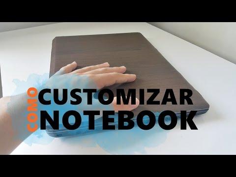Como Customizar Notebook