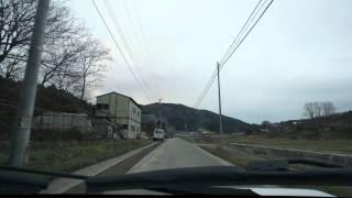 山谷観音入り口前-小黒沢の伊豆権現前-角羅神社前