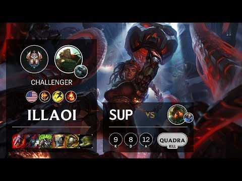 Illaoi Support vs Nautilus - NA Challenger Patch 10.3