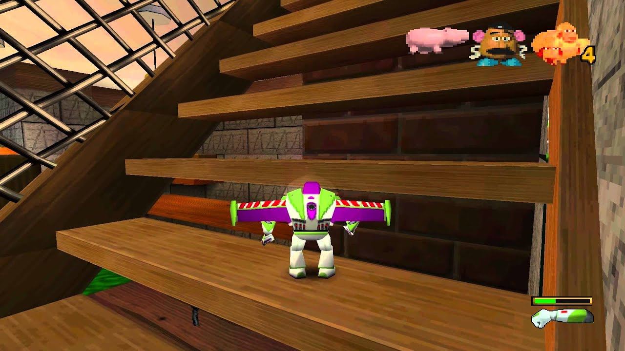 Toy Story 1 Games : Toy story pc part youtube