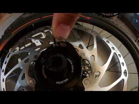 Repeat Shimano Steps 8000 E-Motor Verschlussmutter Demontage