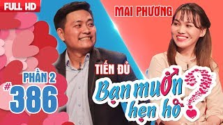 The beauty from Binh Dinh who may get evicted if she's still single|Tien Du - Mai Phuong|BMHH 386