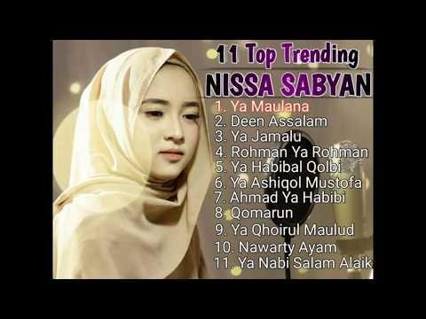 NISSA SABYAN Full Album - Lagu Sholawat Terbaik 2018