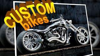 Безумные кастом байки | Кастомайзинг | Фотогалерея эксклюзивных мотоциклов | HD
