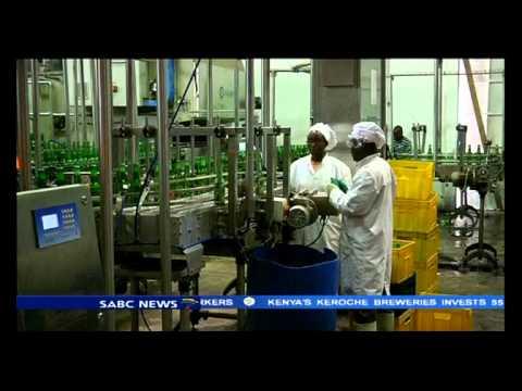 Kenya's Keroche Breweries invested 55 milion US dollars