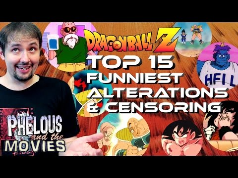 Dragon Ball Z: Top 15 Funniest Alterations & Censoring - Phelous