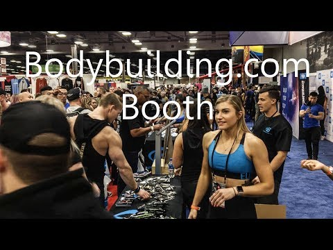 Bodybuilding.com Booth Free Stuff At The Arnold Classic 2018  Filmic Pro Autofocus
