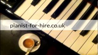 Sophisticated lady, Pianist for Hire, London