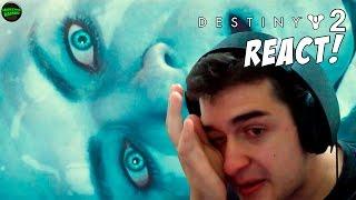 DESTINY 2 - TRAILER GAMEPLAY REACT! Chorei...