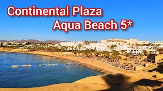 Обзор Пляж отеля Континенталь Плаза Аква Бич 5 Continental Plaza Aqua Beach 5 Шарм эль Шейх