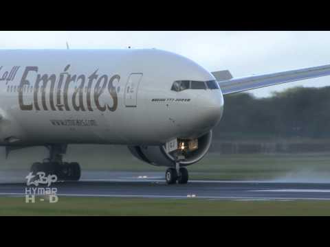 Dublin Airport Planespotting - Aer Lingus Aer Arann Ryanair CityJet Emirates Etihad Hapag LLoyd