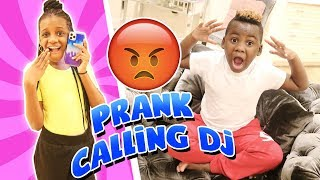 Yaya prank calling DJ