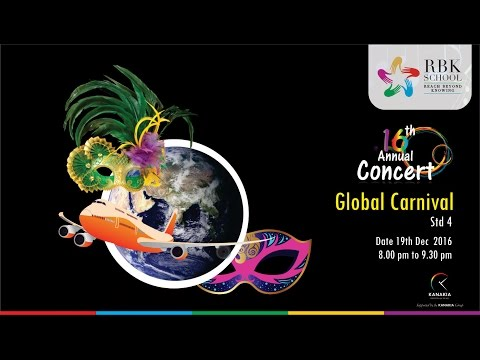 16th Annual Concert : Global Carnival (Grade IV)