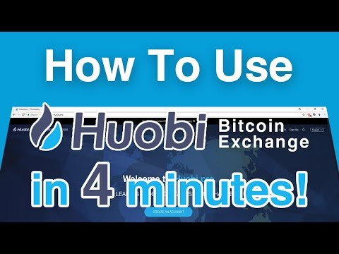 How To Use Huobi - Bitcoin Trading Exchange